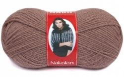 Пряжа Nako Nakolen Nako 49% шерсть, 51% премиум акрил, длина в мотке 210 м.