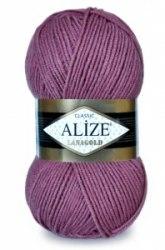 Пряжа Alize Lanagold Alize 49% шерсть, 51% акрил, длина в мотке 240 м.