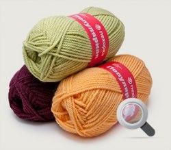 Пряжа Пехорка Популярная ООО Пехорский текстиль 50% импортная шерсть, 45% акрил, 5% высокообъемный акрил, длина в мотке 133м