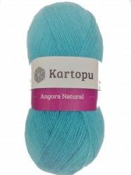 Пряжа Kartopu Angora Natural Kartopu 10% шерсть, 10% мохер, 80% акрил, длина в мотке 530 м.