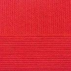 Детская новинка, цвет 06 красный ООО Пехорский текстиль 100% высокообъемный акрил, длина 200м в мотке