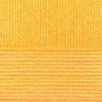 Детская новинка, цвет 12 желток ООО Пехорский текстиль 100% высокообъемный акрил, длина 200м в мотке