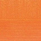Детская новинка, цвет 284 оранжевый ООО Пехорский текстиль 100% высокообъемный акрил, длина 200м в мотке