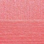 Детская новинка, цвет 324 азалия ООО Пехорский текстиль 100% высокообъемный акрил, длина 200м в мотке