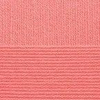 Детская новинка, цвет 351 светлый корал ООО Пехорский текстиль 100% высокообъемный акрил, длина 200м в мотке
