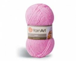 Пряжа Yarn Art Baby Yarn Art 100% акрил, длина в мотке 150 м.