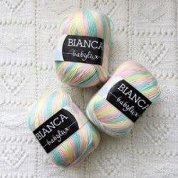 Пряжа Yarn Art Bianca Baby Lux Yarn Art 45% детская шерсть, 55% премиум акрил, длина в мотке 150 м.