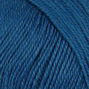 Кроссбред Бразилии, цвет 156 индиго ООО Пехорский текстиль 50% шерсть мериноса, 50% акрил, длина 500м в мотке