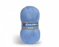 Пряжа Yarn Art Angora Ram Yarn Art 40% мохер, 50% акрил, длина в мотке 500 м.