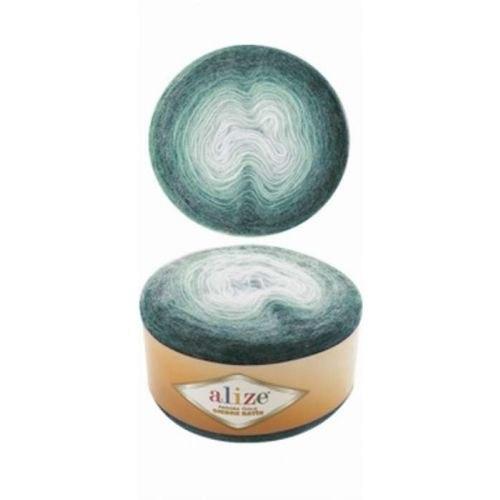 Alize Angora Gold Ombre Batik цвет 7230 изумруд Alize 20% шерсть, 80% акрил, длина 825 м в мотке