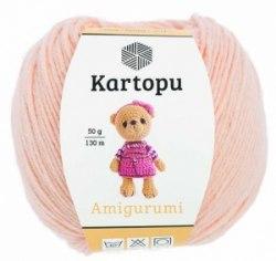 Kartopu Amigurumi Kartopu 51% акрил, 49% хлопок, длина нити в мотке 130 м.