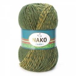 Nako Ombre Nako 25% шерсть, 75% премиум акрил, длина в мотке 190 м.