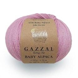 Gazzal Baby Alpaca Gazzal 55% беби альпака, 45% шерсть мериноса длина нити в мотке 160 м.