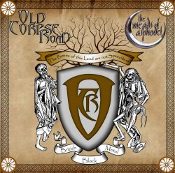 OLD CORPSE ROAD / THE MEADS OF ASPHODEL - The Bones Of This Land Are Not Speechless / English Black Punk Metal CD Heathen Metal
