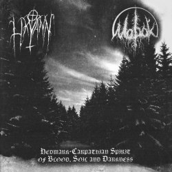 LIKVANN / МОРОК - Hedmark-Carpathian Spirit of Blood, Soil and Darkness CD Heathen Metal