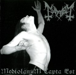 MAYHEM - Mediolanum Capta Est CD Black Metal