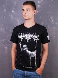 NOKTURNAL MORTUM - Goat Horns - XL Майка Black Metal