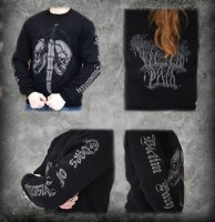 VICTIM PATH - Edges of Insanity longsleeve - M Кофта Depressive Dark Metal