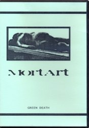 MORTART - Green Death A5 CD-R Dark Ambient