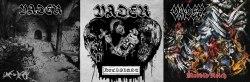 VADER - Live in Decay + Morbid Reich + Necrolust (Set) Digi-CD Death Thrash Metal