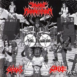 SAVAGE AGGRESSION - Satan's Strike CD Thrash Metal