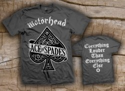 MOTORHEAD - Ace of Spades - M Майка Rock'n'Roll