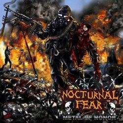 NOCTURNAL FEAR - Metal of Honor CD Thrash Metal
