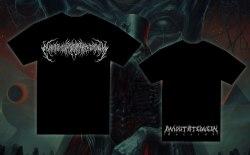 EXIMPERITUSERQETHHZEBIBSIPTUGAKKATHSULWELIARZAXULUM - White Logo - L Майка Technical Brutal Death Metal