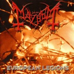 MAYHEM - European Legions CD Black Metal
