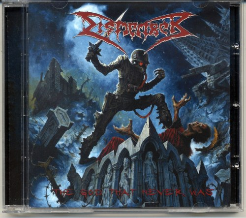 DISMEMBER - The God That Never Was CD Death Metal