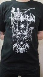 PESTILENTIA - Where the Light Dies - XL Майка Black Metal