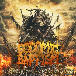 SODOMIC BAPTISM - Black Fire Pandemonium CD Death Metal