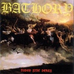 BATHORY - Blood Fire Death (американское издание) CD Thrash Metal