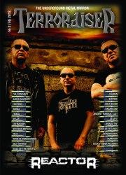 TERRORAISER - разные номера Журнал Metal