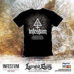 INFESTUM - Ayn - XL Майка Dark Metal