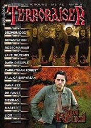 TERRORAISER #4 (28) 2006 Журнал Metal