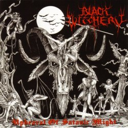 BLACK WITCHERY - Upheaval Of Satanic Might Gatefold LP Black Metal