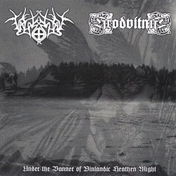 VALASKJALF / HRODVITNIR - Under The Banner Of Vinlandic Heathen Might CD NS Metal