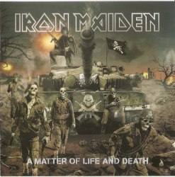 IRON MAIDEN - A Matter Of Life And Death CD Heavy Metal