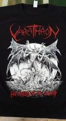 VARATHRON - His Majesty at the Swamp - XL Майка Black Metal