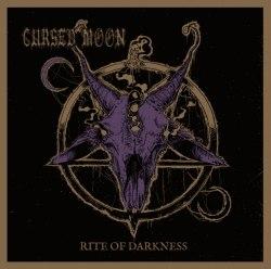 CURSED MOON - Rite of Darkness CD Deathrock Metal