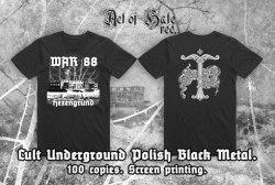 WAR 88 - Hexengrund - L Майка NS Metal