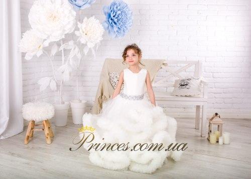 Платье Облачко молочное