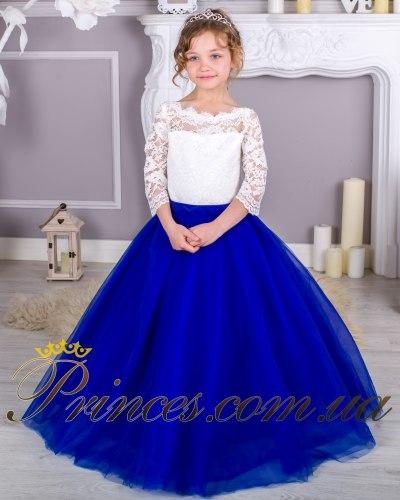 Платье Мелиса синяя
