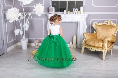 Платье ЛИЛИЯ зелёная