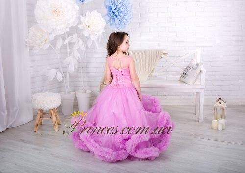 Платье Облачко сиреневое