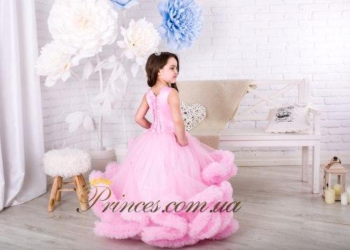 Платье Облачко розовое