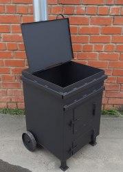 """Печь для сжигания мусора """"Уголек"""" 270 (4мм) (NADA)"""