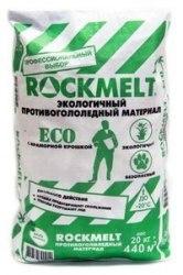 Противогололедный реагент Rockmelt ECO ( 20кг)