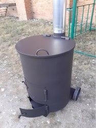 """Печь сжигания мусора """"Смуглянка"""" 200 Л (NADA)"""